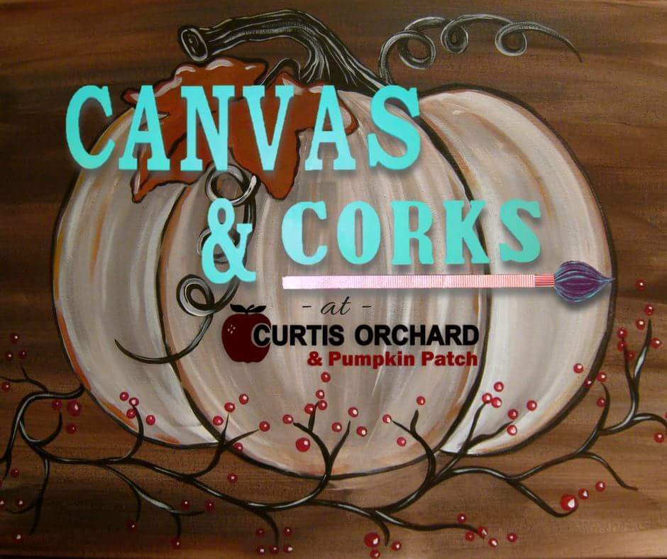 Canvas & Corks at Curtis Orchard